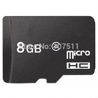20pcs 8GB MICRO SD CARD TransFlash Card TF CARD Genuine 8G 8GB microSD CARD FREE SHIPPING