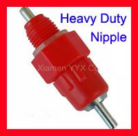 FREE EXPRESS SHIPPING! 90pcs/lot AUTOMATIC CHICKEN / DUCK WATERER SCREW IN POULTRY NIPPLES DRINKER 4 FOWL
