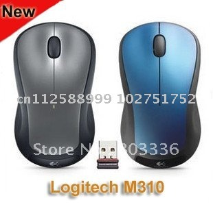 Original Logitech M310 2.4G Wireless Laser Mouse, Logitech Wireless Mouse M310, Nano receiver, Free Shipping!(China (Mainland))