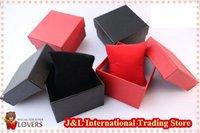 Free shipping, 32pcs/lot, environmental paper Watch Packaging Gift Box / Case 8.5*8*5.5
