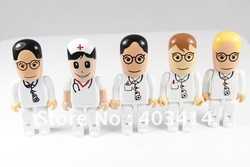 100% Ture Capacity! Promotion doctor usb flash drive 1GB 2GB 4GB 8GB 16GB 32GB 64GB Wholesale(China (Mainland))