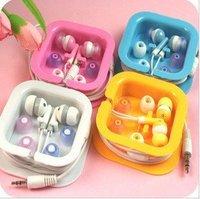 Hot sale 6pcs/lot Earphone Headphone For i Pod MP3 MP4 32GB CD Player PSP+Fulfillment shipping