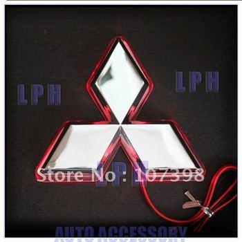 option one,car logo light for Mitsubishi Lancer/Lioncei,car badge lightings,auto led light,auto emblem led lamp
