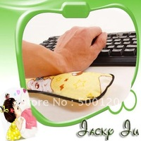 Free Shipping New Bamboo Charcoal Computer Anti-Radiation Mouse Wrist Pads Keyboard Wrist Rest Pad