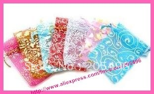 35% OFF DISCOUNT!! Drawstring bag ,7*9cm, Organza pouch , 500pcs/lot. Use for jewelry / gifts / candy packing(China (Mainland))