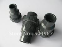 "hot sale 3/4"" pvc ball check valves with steady quality and good price"