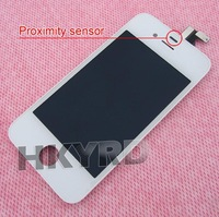 White Touch Digitizer&LCD Display Assembly for iPhone 4G BA019