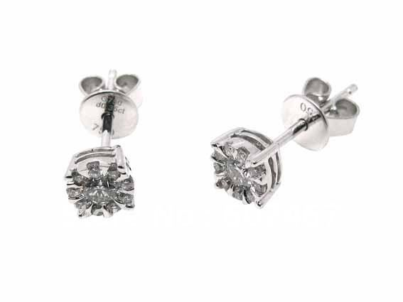 925 silver earring with cz AE41596(China (Mainland))