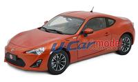1pcs/lot 1:18 TOYOTA GT86 2013 Car model (New Arrival) Orange color