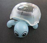 Free Shipping! 6pcs/lot  Solar mini Tortoise,the unique crawling solar toy, solar gift for boy
