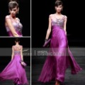 Coniefox Clearance Jewelled Special Occasion Dresses Purple Long Graduation Dresses 80695
