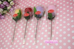 New Sweet rose flower shape Towel,Towel crafts,towel gift,Towel Cake,90pcs/lot,Gifts,Wedding Favors,Wholesale,Free Shipping(China (Mainland))