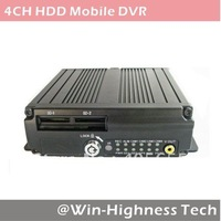 New!!! 3G Mobile DVR, 4ch Bus DVR,  3G WCDMA, EVDO/GPS/WIFI addable, 2*64GB SD supported
