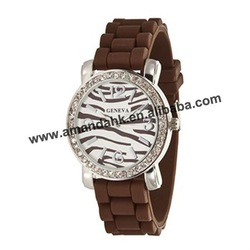 65pcs/lot,zebra face silicone watch,popsicle watch style,3colors available,DHL/UPS/FedEx free shipping,good after-sale service(China (Mainland))