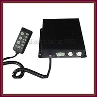 (CJB-300Z) 300W Siren/ 10 tones/ with Microphone/ 2 light switches (with 2pcs X 150W Speaker)