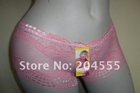 Wholesale - Hot sale Women's Underwear Lace Panties Boxers,sexy brief,600pcs/lot Mixed order Lowest Price