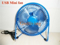 Mini USB Fan with 360 degree rotating PC Mini fan Mute cool for office desk Free shipping