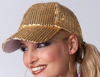 CBRL ---Sequins hat /Baseball cap have many kinds of color can MIXED+ CAPM  free shipping