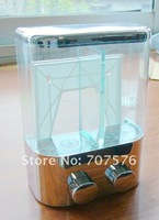 Purchasing Sample + FREIGHT FREE / Free-Haul: European - style Double box soap dispenser TSD19 Chrome Capacily:2*450ml