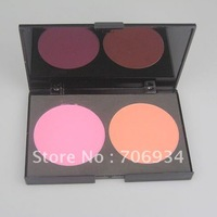Pro 2 Colors Blusher Makeup Palatte Powder Blush Graceful Powder 4/packet 15915-1#