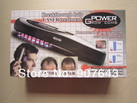 Power Grow Laser Hair Comb Treatment Brand Massager Brushes 1set free shipping