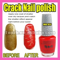 Fast & Free Shipping 5 x New Nail Art Crack Pattern Nail Polish Varnish F272