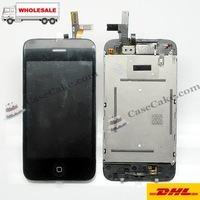 HongKong post  free shipping +FULL LCD Touch Screen Digitizer Assembly For iPhone 3GS
