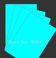 glow photo paper, glow in the dark photo paper, glow ink jet photo paper, luminescent paper ,Aqua color ,A4, free shipping