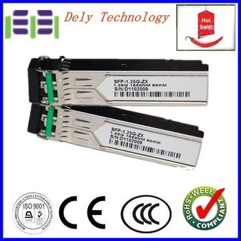 CE Quality GLC-ZX-SM  1000base zx 1.25G 80km SFP Transceiver