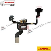 High Quality Proximity Sensor Induction Flex Cable for iPhone4 Replacement Parts Brand New 20pcs/lot +Free Shipping