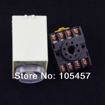 12VDC power off delay timer time relay 0-5 second ST3PF