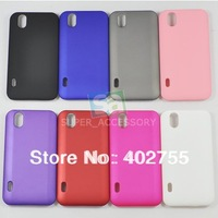Plastic Rubber Hard Case Cover Skin for LG Optimus Black P970 Free Shipping