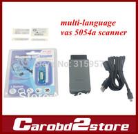 Free shipping 2014 top multi-language vas 5054a scanner ODIS V2.02 version VAS5054 vas 5054 Bluetooth vas5054a for VWskoda seat