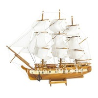 real wood handcrafts  wooden sailing ship Best price DFHA001