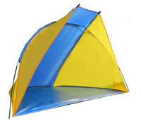 High Quality Fishing Tent 3-4 Person Single Layer Beach Tent