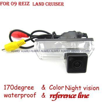 wireless wire Car Rear View camera paking assist rearview system for TOYOTA LAND CRUISER Prado 200 LC200 REIZ Mark x 2009 2008