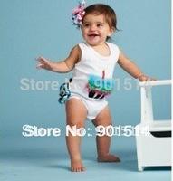 3 pieces/lot zebra baby romper, baby rompers girls romper toddler wear wholesale