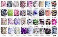50 PCS/lot Washable And Reusable Cloth Baby Nappies Free Shipping
