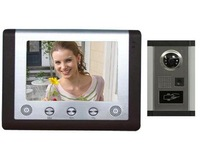 "7"" TFT LCD with ID Card Color Video Door Phone"