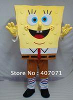 sponge bob mascot costume NEW model great quality