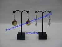Wholesale Free Shipping Black Acrylic Metal 40 Tree Jewelry Earring Display Stand Holder Showcase -BBM