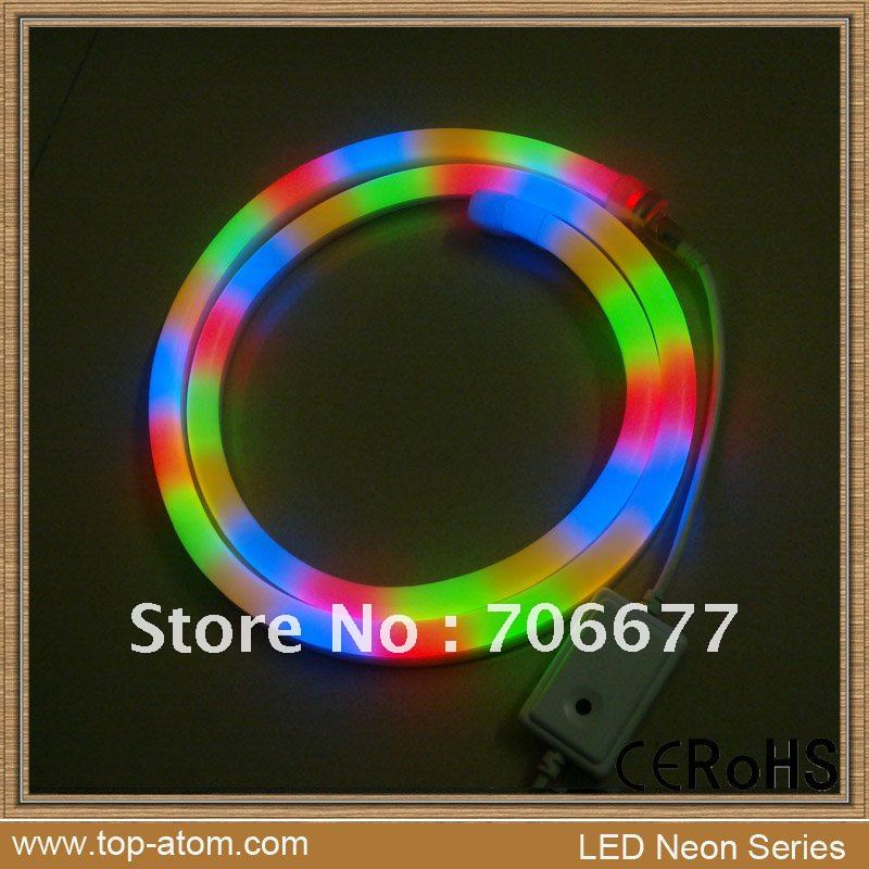 RGB 24V rainbow neon light, rainbow lighting, rainbow strips TA-M-RGB-24V(China (Mainland))