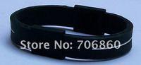 PB Bracelet Power Band Silicone Wristband Health Energy Balance Bracelet No Box 100pcs/lot
