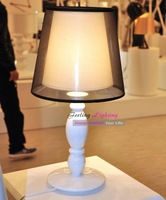 Free Shipping Hot Selling Clasica Table Lamp,Creative Fashion Modern Table Fixture White