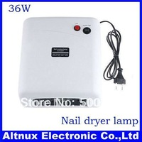 36W 220V/110-127V  Nail Art UV Gel Curing Lamp Tube Light Dryer RT56
