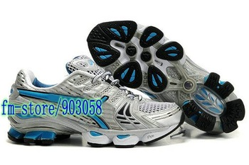 Wholesale  free shipping 2011 Latest   running shoes    blue COLOR