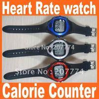 20Pcs/lot Pulse Heart Rate Counter Calories Monitor Watch Sport Waterproof Free shipping