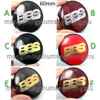 4pcs 60mm BBS Wheel Center Caps Badges Emblem