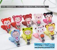 Free ship!!Cartoon animals tanuki series of nail clippers / nail scissors /nail cutter