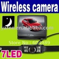 "Hot Sale !!! New Wholesale Wireless 3.5"" Color LCD Monitor Car Rearview Camera N63"
